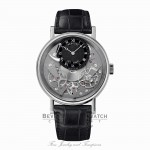 Breguet Tradition Manual Wind 40mm 18kt White Gold 7057BB/G9/9V6 ZPXUVJ - Beverly Hills Watch