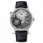 Breguet Tradition GMT 40mm Skeleton Dial White Gold 7067BB/G1/9W6 NV9JWU - Beverly Hills Watch Company