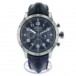 Breguet Transatlantique Type XXI Flyback Stainless Steel Ruthenium Dial 3810ST/92/9ZU 7LJX5V - Beverly Hills Watch Company