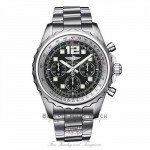 Breitling Chronospace Professional III Black Dial 46MM Stainless Steel A2336035/BA68 - Beverly Hills Watch Company Watch Store