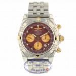 Breitling Chronomat 44 Stainless Steel Rose Gold  Burgundy Dial IB011012/K524 TTKVZJ