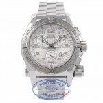 Breitling Emergency Mission Stainless Steel White Dial Chronograph A73322 46HTIC - Beverly Hills Watch Company Watch Store
