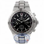 Breitling Hercules Stainless Steel Black Dial A39362 45NTIG - Beverly Hills Watch Company Watch Store
