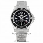 Breitling Superocean II 42 Automatic Black Dial Stainless Steel A17365C9/BD67 AXDLU8 - Beverly Hills Watch Company