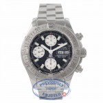 Breitling Chronograph Superocean 42MM Stainless Steel Black Dial A1334011 25ZRCY - Beverly Hills Watch Company Watch Store