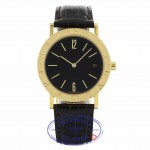 Bvlgari 18K Yellow Gold Quartz 33mm Crocodile Strap BB33GLD ZFTJ4T - Beverly Hills Watch Company