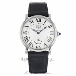 Cartier Rotonde 40mm Silver Dial Automatic Stainless Steel W1556369 NW3P3L - Beverly Hills Watch
