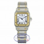 Cartier Santos Gents Vintage Circa 1990's Yellow Gold Stainless Steel SANTOSVINT Y6Y5FF - Beverly Hills Watch