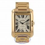 Cartier Tank Anglaise Rose Gold Medium Size Automatic W5310003 ZQRL37 - Beverly Hills Watch Company