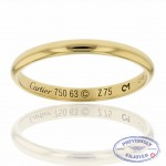 Cartier Yellow Gold Band B4002300 ZKPAQL - Beverly Hills Watch