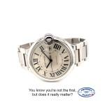 Cartier Ballon Bleu Large Stainless 42mm Steel W69012Z4 N22FR4 - Beverly Hills Watch Company