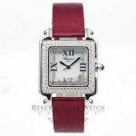 Chopard Square Happy Sport Diamond 27-6770-23-11 Beverly Hills Watches