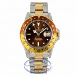 "Rolex GMT-Master II ""Root-Beer"" Automatic 40mm 16753 - Beverly Hills Watch"