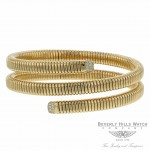 Vermin Double Tour Yellow Gold and Diamond Bracelet By Naira & C MNHVFR - Beverly Hills Watch