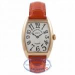 Franck Muller Medium Curvex Rose Gold 7502QZ QZB2ZT - Beverly Hills Watch Company Watch Store