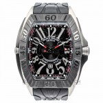 Franck Muller Conquistador Sport GPG Titanium Case Rubber Strap Watch 9900 SC DT GPG Beverly Hills Watch Company Watches