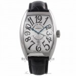 Franck Muller Curvex XL Gents Automatic Stainless Steel Silver Dial 8880 B SC DT Q8EP39 - Beverly Hills Watch Company Watch Store