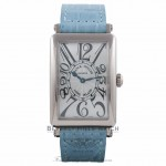 Franck Muller Long Island 18Kt White Gold Ladies Medium Watch 952QZ Beverly Hills Watch Company Watches