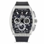 Franck Muller Vanguard Grande Date Chronograph Stainless Steel V45CCGDSQTACB J1K2CW - Beverly Hills Watch