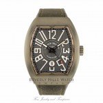 Franck Muller Vanguard Titanium and Rose Gold V45SCBRTT5NGR WHLJ0P - Beverly Hills Watch