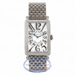 Frank Muller Long Island Diamonds 18K White Gold 952 QZD FJF5KV - Beverly Hills Watch Store