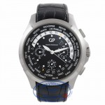 Girard Perregaux Traveller Stainless Steel Black Dial Chronograph 49700.11.631.BB6A 3EJD3D - Beverly Hills Watch Company Watch Store