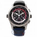 Girard Perregaux World Timer Ferrari F1 Titanium Rubber Strap 4980022611FK6A UFHING - Beverly Hills Watch Company Watch Store