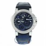 Harry Winston Ocean Dual Time Gold Edition OCEATZ44WW002 6K1TN0 - Beverly Hills Watch Company