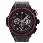 Hublot Big Bang King Power Dwayne Wade Edition 48mm Black Ceramic Black Rubber Strap 703.CI.1123.VR.DWD11 3RW7AQ - Beverly Hills Watch Store