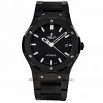 Hublot Classic Fusion 45MM Carbon Fiber Dial Black Ceramic Bezel 511.CM.1770.CM AFZ8CC - Beverly Hills Watch Company Watch Store
