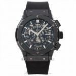 Hublot Classic Fusion Black Magic Chronograph 45MM Black Ceramic Skeleton Dial 525.CM.0170.RX FMPHK0 - Beverly Hills Watch Company Watch Store