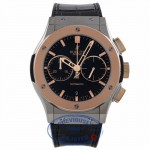 Hublot Classic Fusion Chronograph 18k Rose Gold Titanium 45MM 521.NO.1180.LR E0YRYH - Beverly Hills Watch Company Watch Store