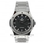 Hublot Classic Fusion Zirconium Black Dial 45mm Watch 511.ZX.1170.NX Beverly Hills Watch Company Watches