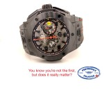 Hublot Big Bang Ferrari  Black Ceramic Case 401.CX.0123.VR AU8ANV
