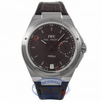 IWC Big Ingenuier 45MM Stainless Steel Automatic Dark Brown Dial Alligator Strap IW500501 5NC90D - Beverly Hills Watch Company Watch Store