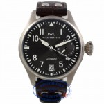 IWC Big Pilot 18K White Gold Slate Dial IW500402 Q71C7V - Beverly Hills Watch Company