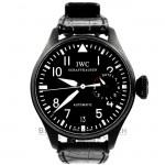 IWC Big Pilot's Steel Watch 'Big Black Storm' DLC Watch IW5009-01 Beverly Hills Watch Company Watch Store