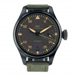 IWC Big Pilots Top Gun Miramar Titanium Anthracite Dial Automatic Green Fabric IW501902 676U3Y - Beverly Hills Watch Company