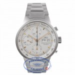 IWC GST Chronograph 40MM Automatic Stainless Steel Silver Dial IW370713 M83Q98 - Beverly Hills Watch Company Watch Store