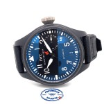 IWC Big Pilot Top Gun 48MM Black Ceramic 7 Day Power Reserve IW501901 98T4K6