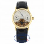 Jaquet-Droz Tourbillon #688 Circa 2001 18k Yellow Gold Buckle 4125 VY8PLU - Beverly Hills Watch Company