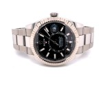Rolex Sky-Dweller 42mm Stainless Steel Black Dial 326934 MMLZRJ - Beverly Hills Watch Company