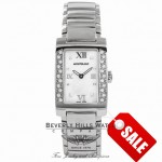 Montblanc Ladies Mother of Pearl Quartz Diamond Bezel Stainless Steel 36127 10442 - Beverly Hills Watch Company Watch Store