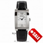 Montblanc Ladies Profile Steel Jewelry Collection Mother of Pearl Diamond Dial Stainless Steel 36128 6949 - Beverly Hills Watch Company Watch Store
