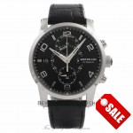 Montblanc Timewalker Chronograph Black Dial Stainless Steel 105077 MISDWI - Beverly Hills Watch Company Watch Store