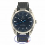 Omega Aqua Terra 150M Co-Axial Master Chronometer 41mm 220.12.41.21.03.002 Q51WYV - Beverly Hills Watch Company