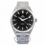 Omega Seamaster Aqua Terra Coaxial Stainless Steel Black Dial 2503500 GEFPQB - Beverly Hills Watch Company Watch Store