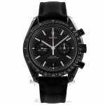 Omega Speedmaster Co-Axial Dark Side Of The Moon Chronograph Black Dial Fabric Stop 311.92.44.51.01.003 7M0D5Y - Beverly Hills Watch Store