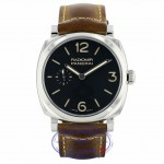 Panerai Radiomir 1940 Hand Wound 42mm Black Dial Brown Leather PAM00512 RVRL4M - Beverly Hills Watch