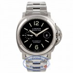 Panerai Luminor Marina 44MM Stainless Steel Black Dial PAM 220 SQEAHP - Beverly Hills Watch Company Watch Store